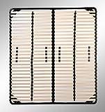 i-flair® Lattenrost 160x200 cm, Lattenrahmen für alle Matratzen geeignet - alle Größen