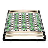 i-flair Lattenrost 90x200 cm Lattenrahmen Tellerlattenrost Ergo IF56 - für alle Matratzen geeignet...