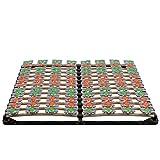 i-flair Lattenrost 180x200 cm Lattenrahmen Tellerlattenrost Flower Ergo IF57 - für alle Matratzen...